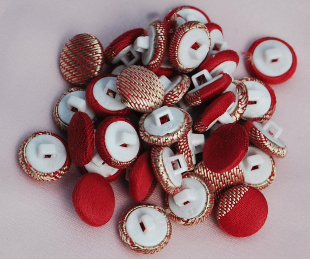 Covered buttons by mail order